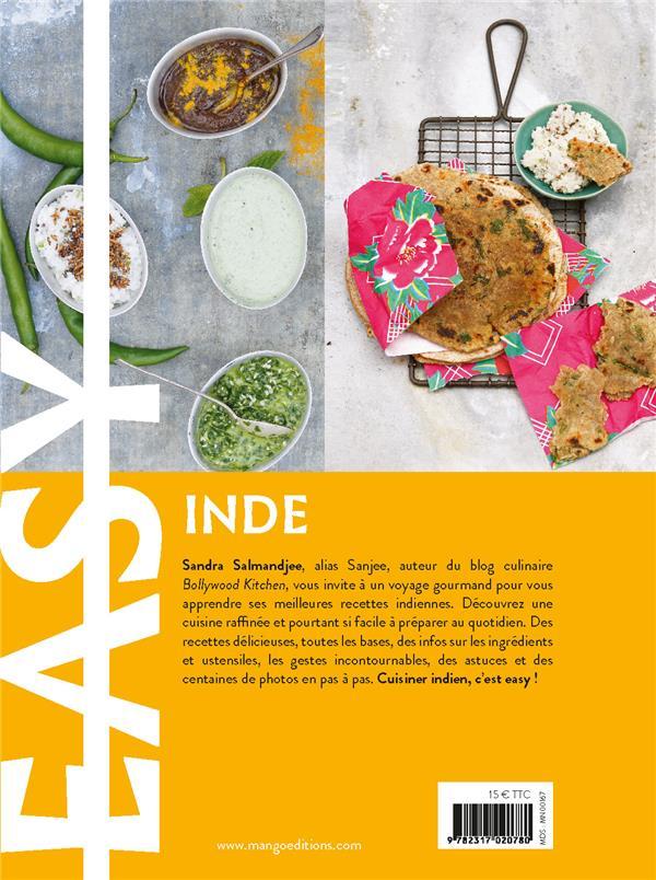 easy Inde ; les meilleures recettes de mon pays tout en images