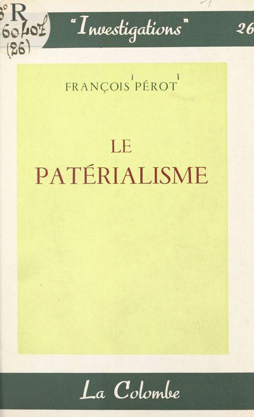 Le patérialisme