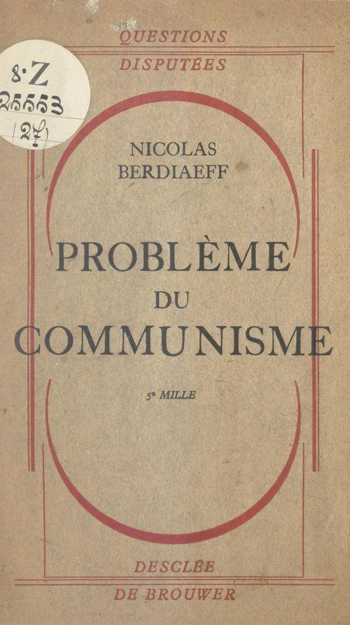 Problème du communisme