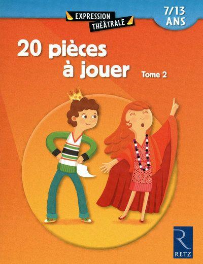20 Pieces A Jouer T.2 ; 7/13 Ans