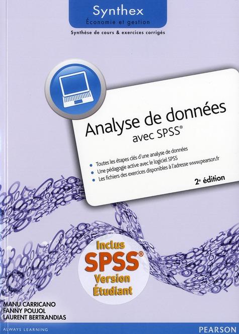 SYNTHEX ; analyse de données avec SPSS (2e édition)