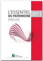 L'essentiel du patrimoine privé 2011