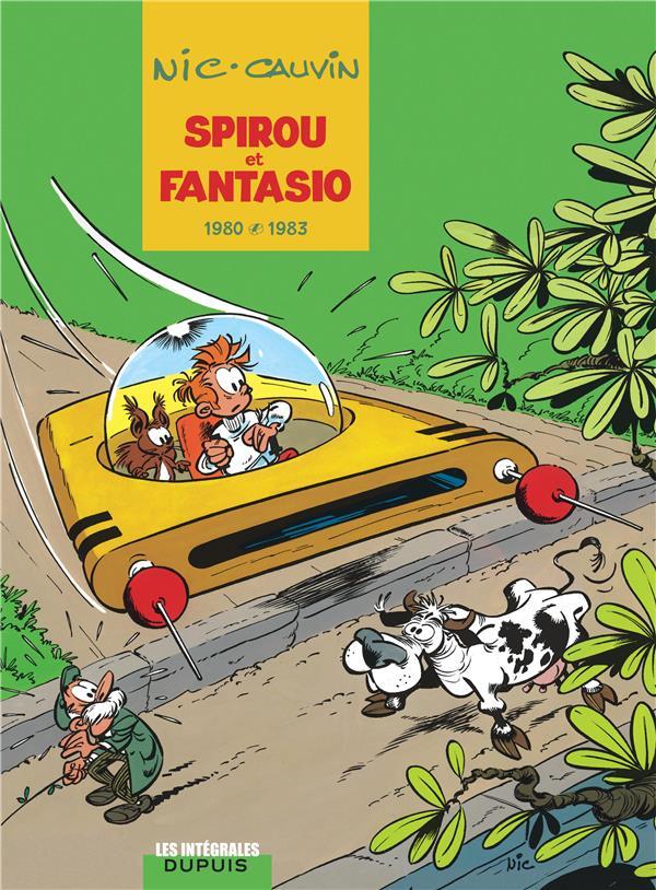 Spirou Et Fantasio ; Integrale T.12 ; 1980-1983