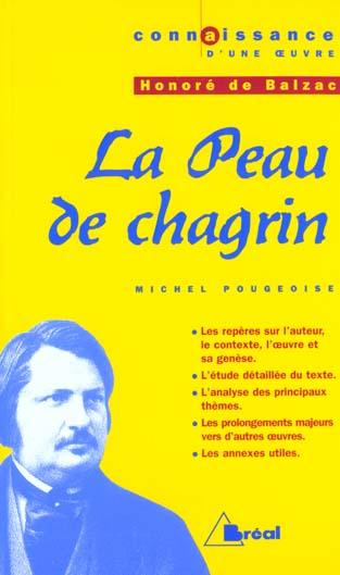 La peau de chagrin, d'Honoré de Balzac