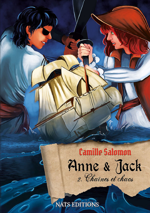 Anne et Jack t.2 : chaînes et chaos