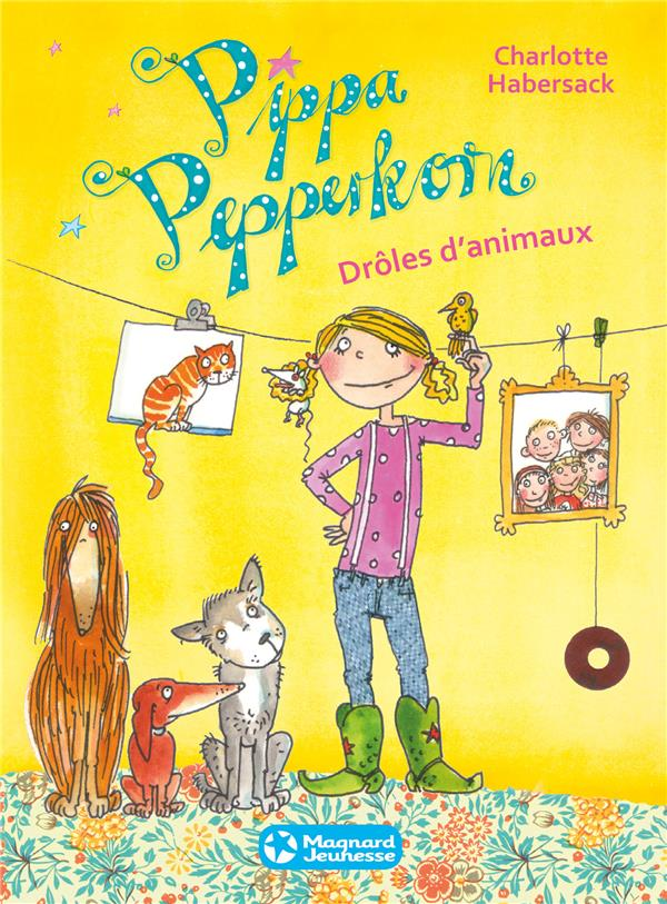 Pippa Pepperkorn T.2 ; drôles d'animaux