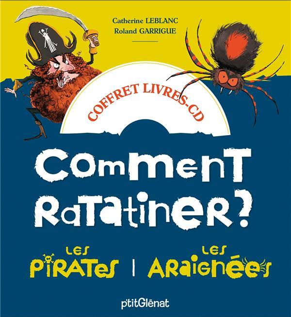 Comment ratatiner les pirates et les araignées ; coffret