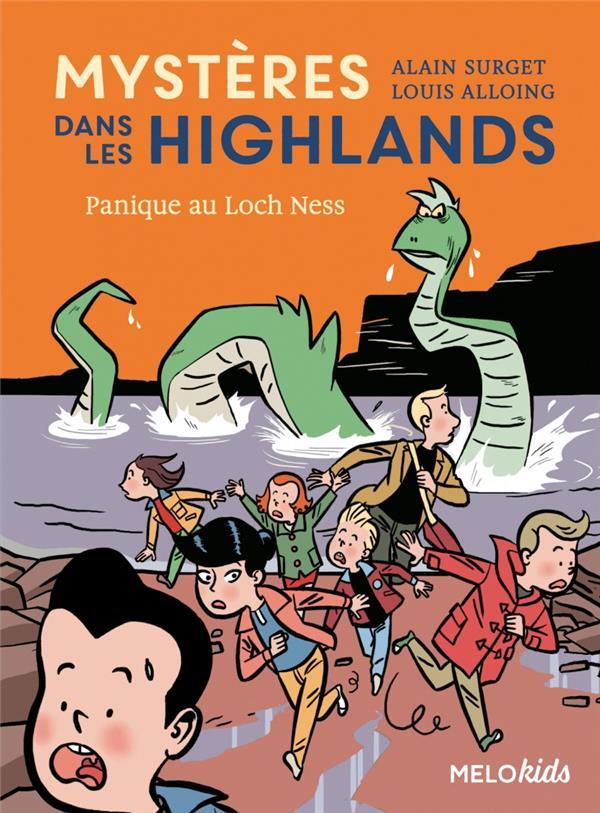 Mystères dans les Highlands T.3 ; panique au Loch Ness