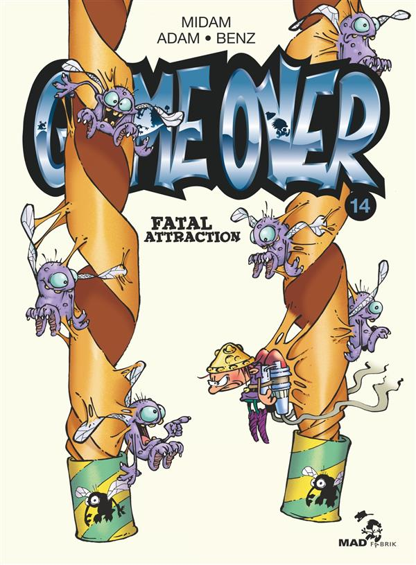 GAME OVER - TOME 14 - FATAL ATTRACTION MIDAM/ADAM/BENZ