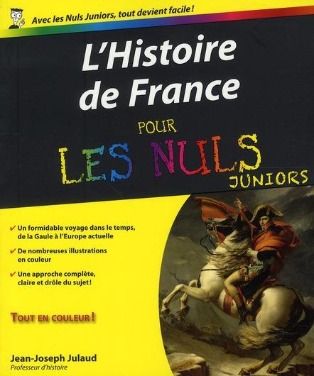 Histoire de France pour les nuls junior