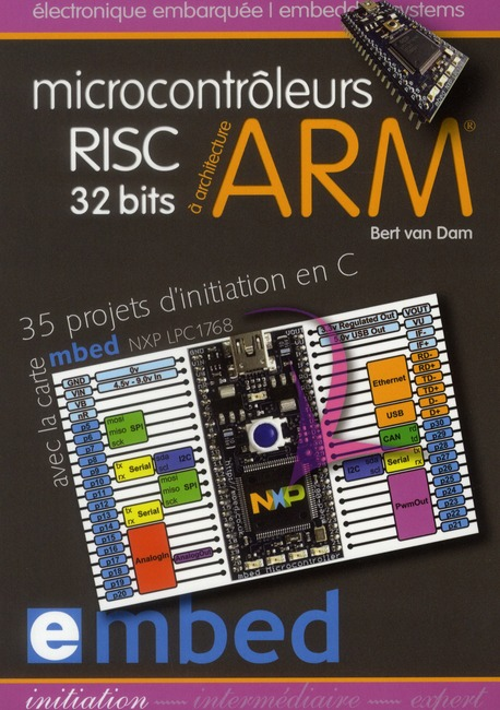 Microcontroleurs Risc 32 Bits A Architecture Arm. 35 Projetsd'Initiation En C Av