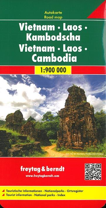 Vietnam, Laos, Cambodge