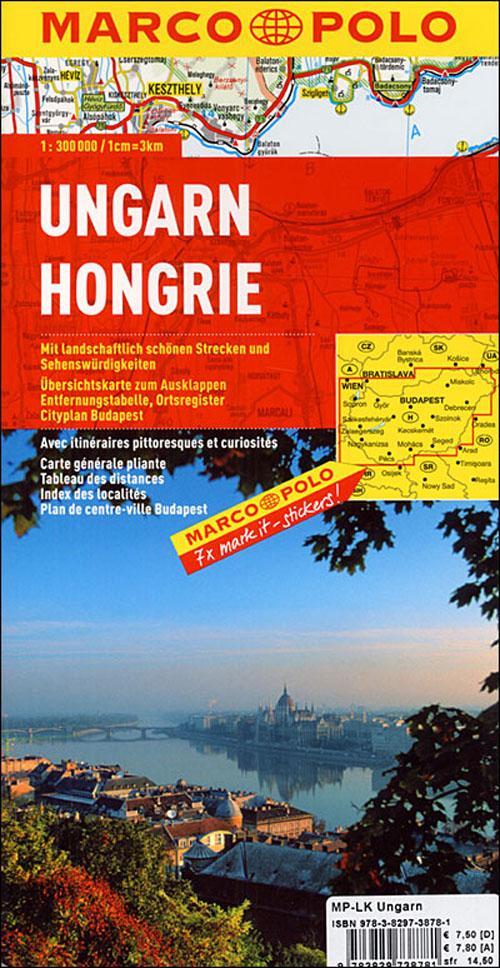 Hongrie ; euro carte marco polo