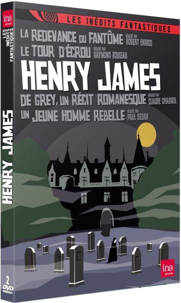 Henry James : La redevance du fantôme + Le tour d'écrou + De Grey, un récit romanesque + Un jeune homme rebelle