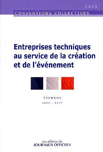 Entreprises Techniques Au Service De La Creation Et De L'Evenement