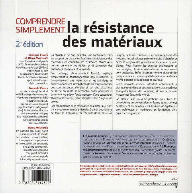 Comprendre simplement la résistance des matériaux (2e édition)