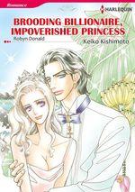 Vente EBooks : Harlequin Comics: Brooding Billionnaire, Impoverished Princess  - Robyn Donald - Keiko Kishimoto