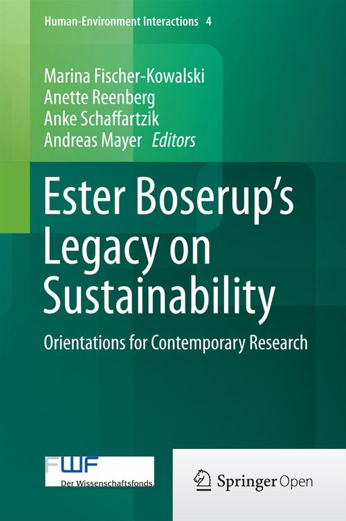 Ester Boserup's Legacy on Sustainability
