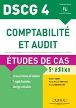 Vente EBooks : DSCG 4 - Comptabilité et audit - 5e éd.  - Robert Obert - Marie-Pierre Mairesse - Arnaud Desenfans