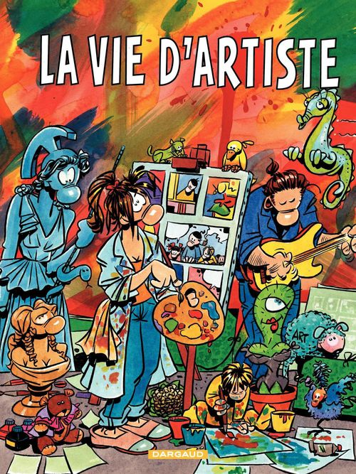 Vente Livre Numérique : Cestac pour les Grands - tome 5 - La Vie d'Artiste  - Florence Cestac