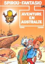 Couverture de Les aventures de spirou et fantasio t.34 ; aventure en australie