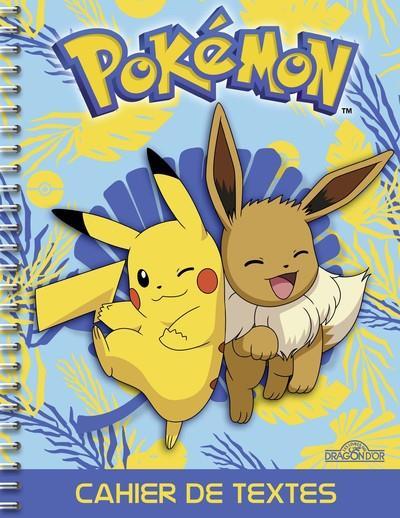 Pokémon ; cahier de textes (édition 2019/2020)