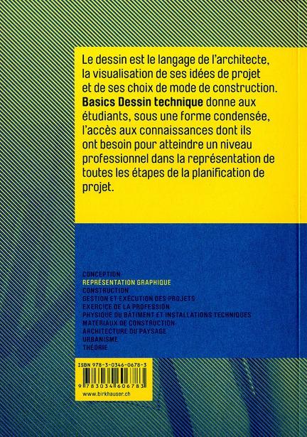 Basics dessin technique (new edition) /francais