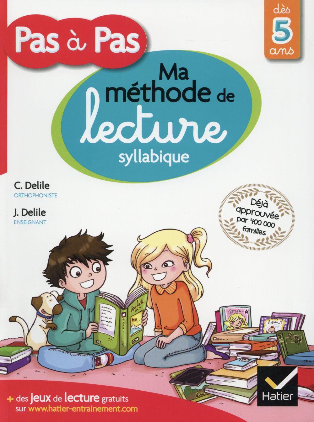 Pas à pas ; ma méthode de lecture syllabique