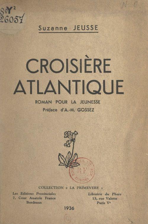 Croisière atlantique