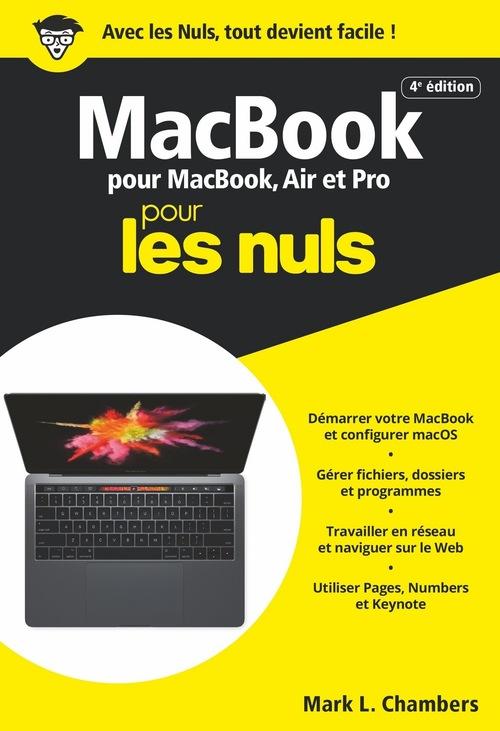 MacBook pour MacBook, Air et Pro poche pour les nuls (4e édition)