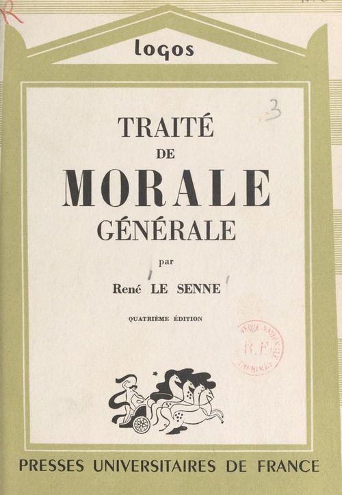 Traité de morale générale