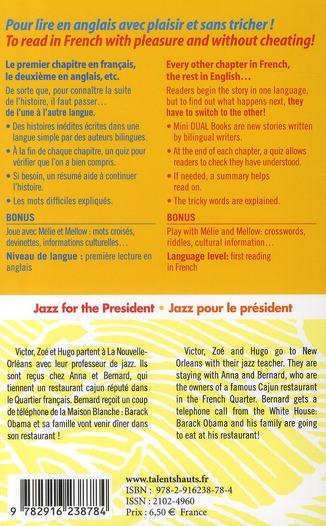 Jazz for the president ; jazz pour le président