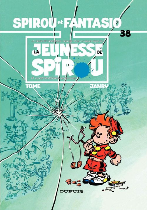 Spirou et Fantasio - Tome 38 - LA JEUNESSE DE SPIROU  - Janry  - Philippe Tome  - Tome
