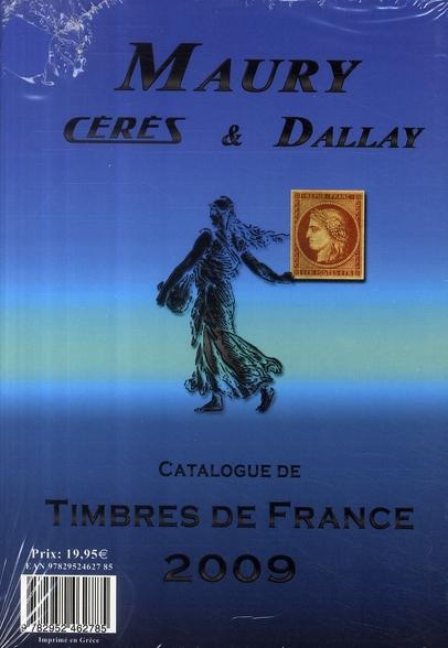 Catalogue timbres de France (édition 2009)