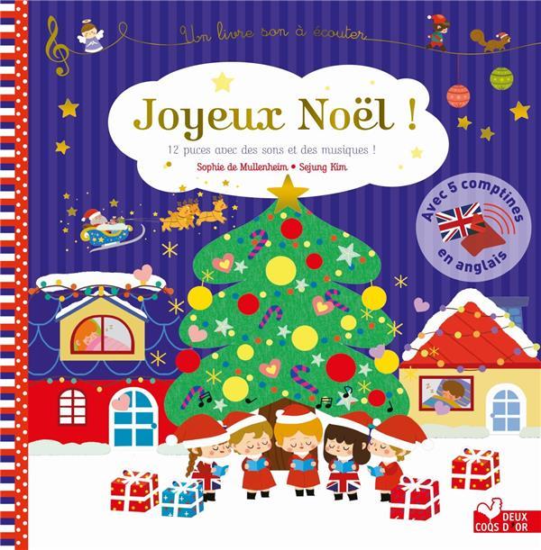 Joyeux Noel Audio.Joyeux Noel Sophie De Mullenheim Sejung Kim Deux Coqs D Or Livre Cd Audio Place Des Libraires