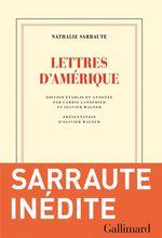 Vente Livre Numérique : Lettres d'Amérique  - Nathalie Sarraute