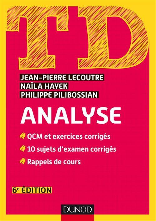 TD ; analyse (6e édition)