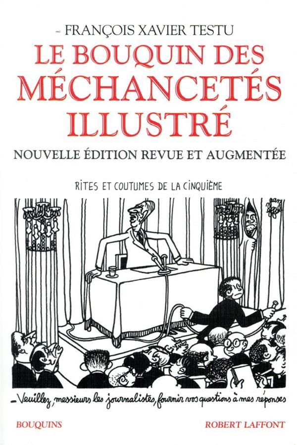 LE BOUQUIN DES MECHANCETES ILLUSTRE