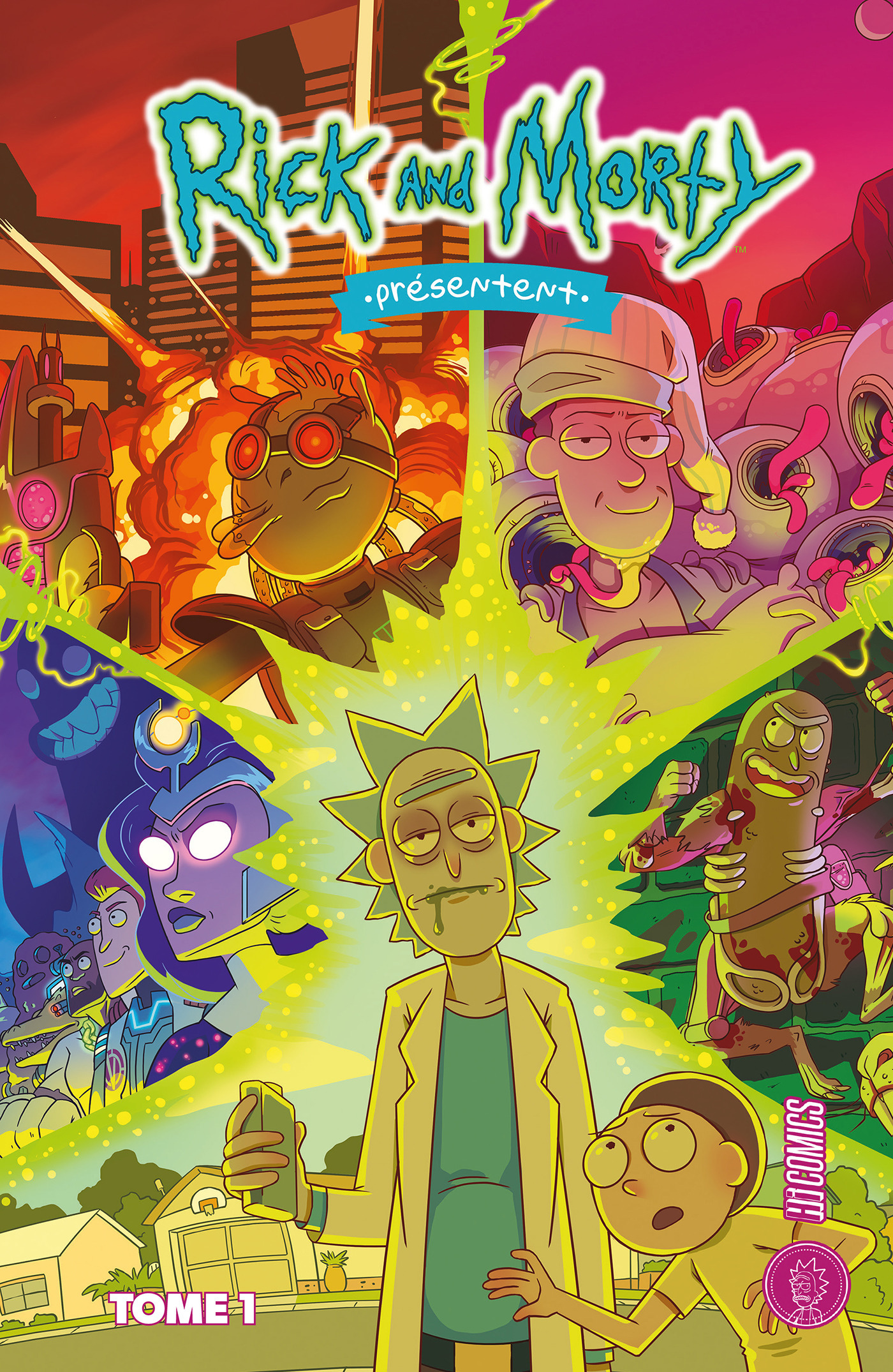 Rick and Morty ; histoires de famille