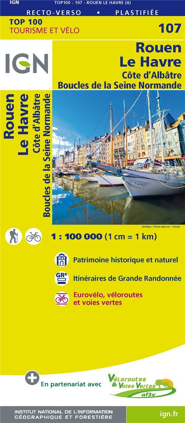 TOP100107 ; Rouen, le Havre, Côte d'Albâtre, boucles de la Seine normande