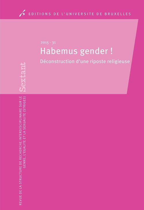 Habemus gender