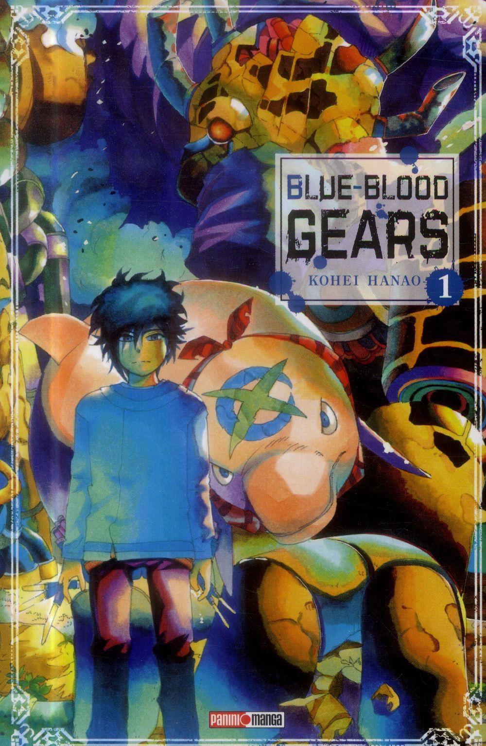 Blue-Blood Gears T.1