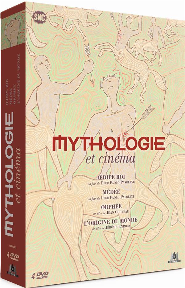 Mythologie et cinéma - Coffret : Oedipe Roi + Médée + Orphée