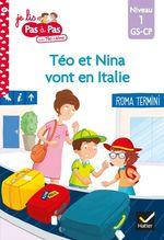 Vente Livre Numérique : Téo et Nina GS CP Niveau 1 - Téo et Nina vont en Italie  - Marie-Hélène Van Tilbeurgh - Isabelle Chavigny