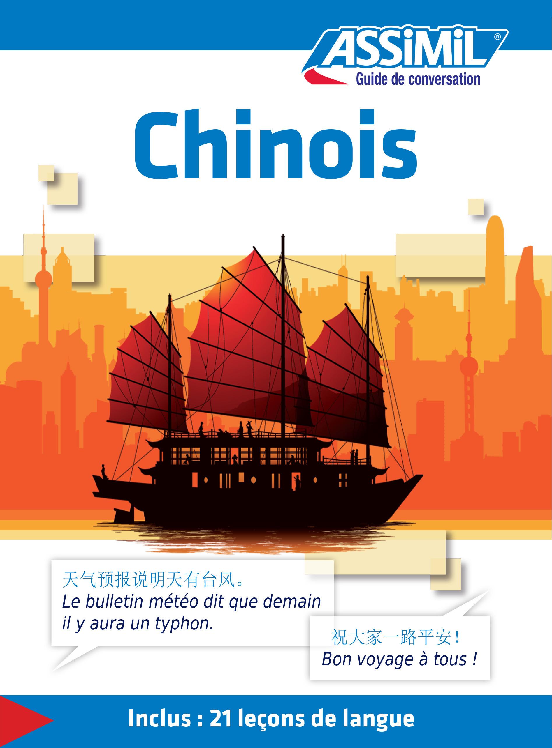 GUIDES DE CONVERSATION ; chinois