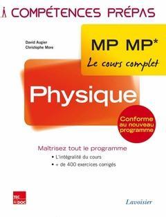 COMPETENCES PREPAS ; physique ; 2e année MP MP