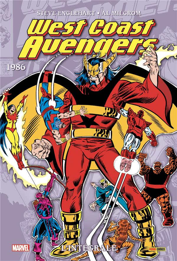 West coast Avengers ; INTEGRALE VOL.2 ; 1986