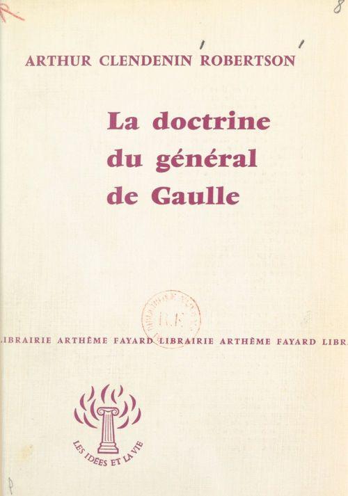 La doctrine du général de Gaulle