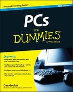 Vente Livre Numérique : PCs For Dummies  - Dan Gookin