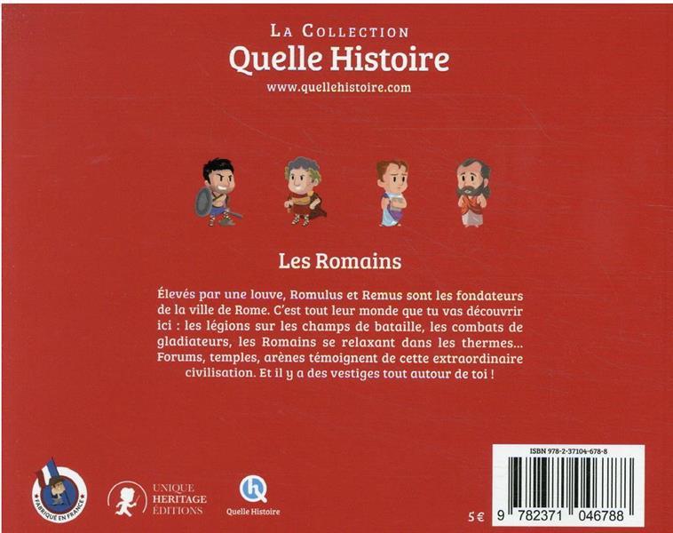 Les Romains : civilisation